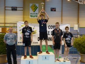 2015-championnat 35 - anthony boulay 3ème en cadet