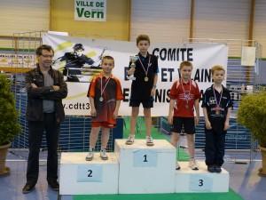 2015-championnat 35 - venceslas duplan vainqueur en poussins