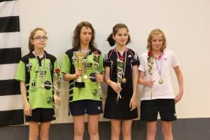 Bretagne 2015  - lou metaye 3ème en minimes filles