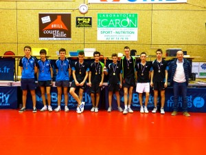 interclubs 2014-2015 les juniors podium