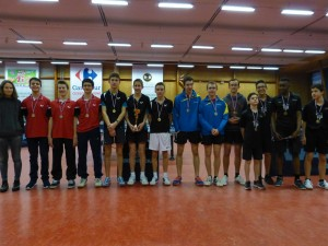 saison 2015-2016 - interclubs - podium juniors