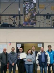 saison 2012-2013 -  labellisation salle 2013