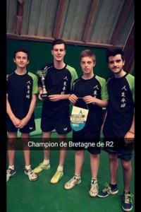 saison 2015-2016_titres R2 a vannes_la R2 championne de Bretagne