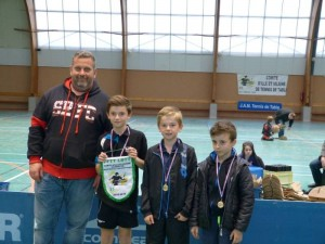 saison 2015-2016_titres championnat jeune_les benjamins champions de D2