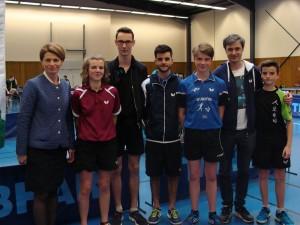 saison 2016-17_tournoi national vitré_isabelle le callennec (député) avec les jeunes