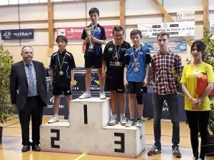 saison 2016-2017_Bretagne_podium benjamin_venceslas 3ème