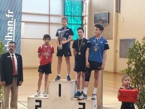 saison 2016-2017_Bretagne_podium cadet_elie 3ème