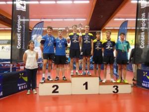 saison 2017-2018_Bretagne_double juniors claveau-boulay 2ème