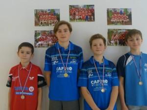 saison 2018-19-tour n°2 circuit des jeunes_leandre 1er et clement laine 3eme en minimes