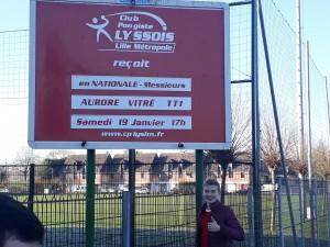 saison 2018-2019_N3_J13_Lille_pancarte
