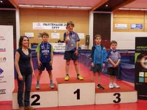 saison 2018-2019_championnat 35_enzo bkm vice champion poussin
