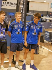 saison 2018-19_Bretagne_médaille de bronze en doubles juniors