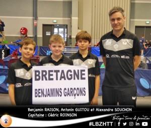 saison 2019-2020_championnats de France des Regions a Auch_equipe benj